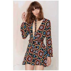 Nastygal retro dress